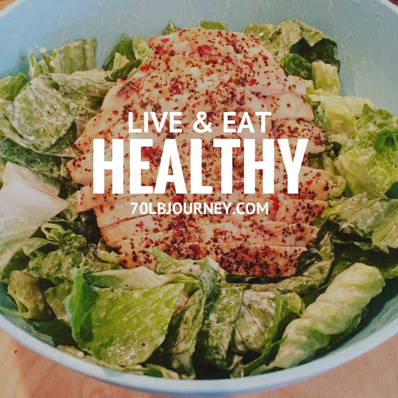 live & eat healthy