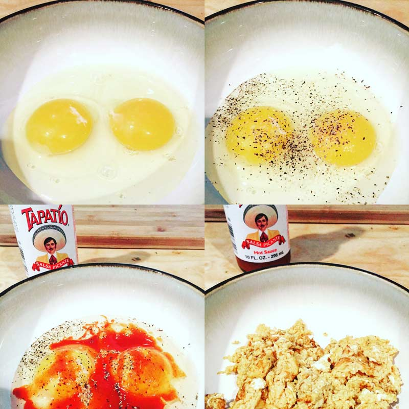 best chorizo recipe with eggs tapatio
