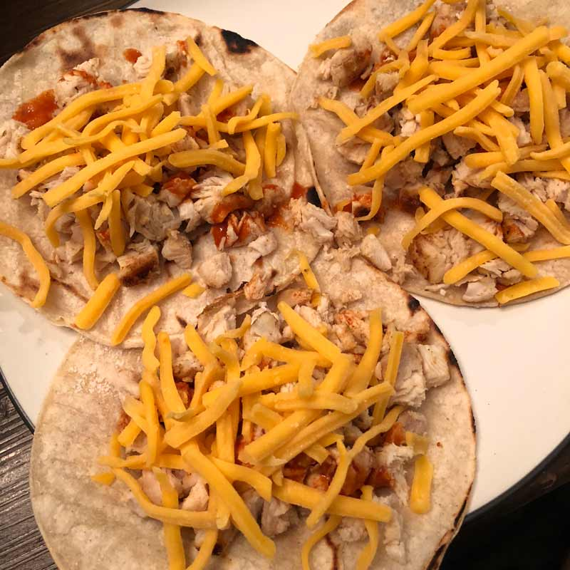lose weight with tacos and cheese